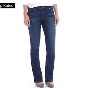Crown & Ivy straight leg jean 12R